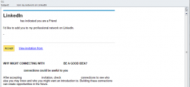 LinkedIn spam Emails Spread Cridex Trojan