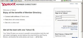 New Phishing attack targets Yahoo! users