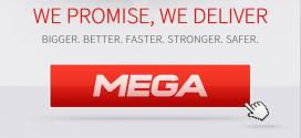 Mega.co.nz homepage