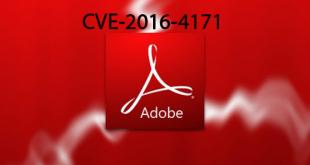 CVE-2016-4171 flash zero-day