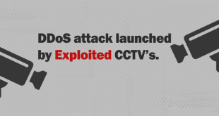 CCTV Exploited for DDoS attack