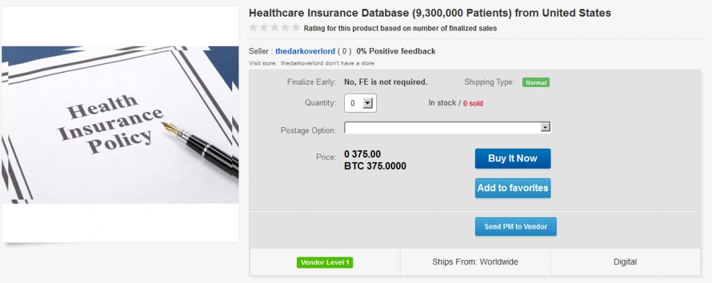 healthcare-databse